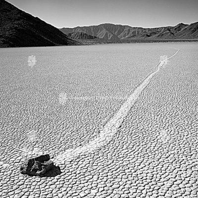 Boulder Tracks Dust